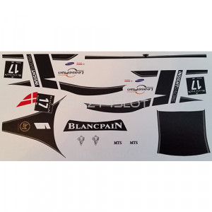 Decals ad acqua GT3 Italia #17