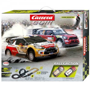 Pista Elettrica Carrera GO Rally Action