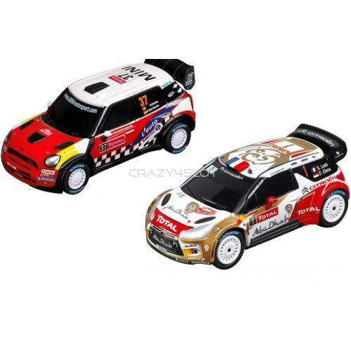 Pista Elettrica Carrera GO Rally Action