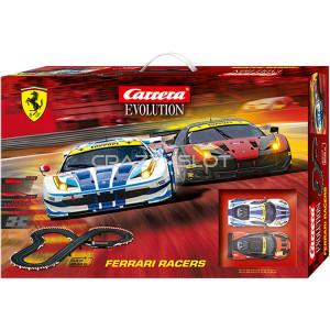 Pista Elettrica Carrera Evolution Ferrari Racers