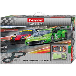 Pista Elettrica Carrera Evolution Unlimited Racing