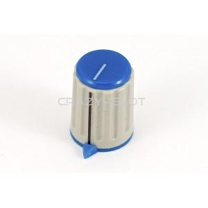 Pomello Blu per Potenziometro