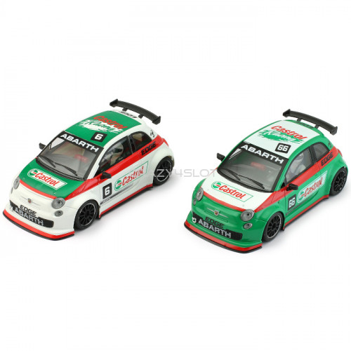Fiat Abarth 500 Assetto Corsa Castrol Green n.66