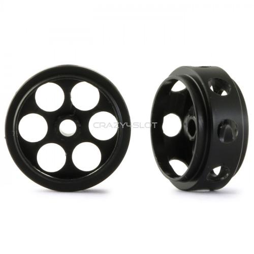 Cerchi  Anteriori Ultralight in Pom da 17 x 8mm