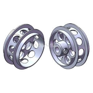 Cerchi in Alluminio da 16.5x8.2mm Air System