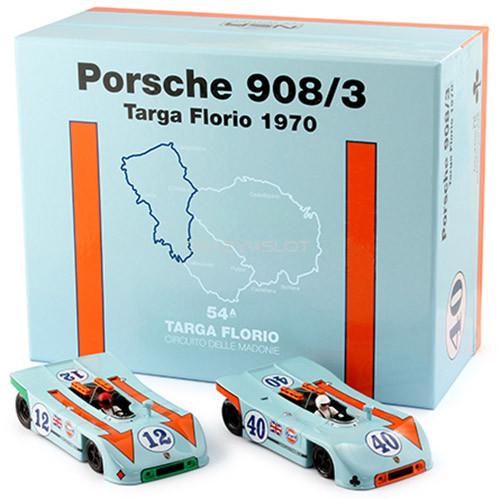 Cofanetto Porsche 908/3 Targa Florio 1970 Asso di Quadri