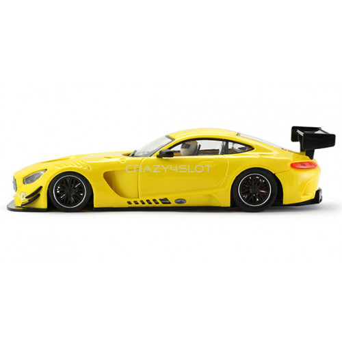 Mercedes AMG Test Car Yellow AW King 21k