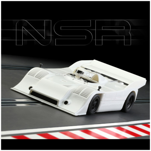 Porsche 917/10K Test Car White