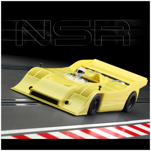 Porsche 917/10K Test Car Yellow