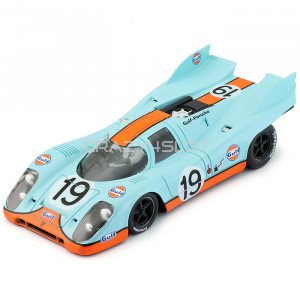 Porsche 917K Gulf 24h Le Mans 1971 n.19