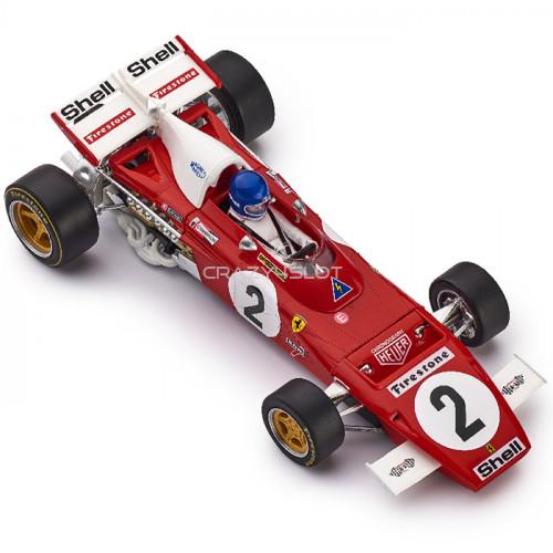 Ferrari 312B2 1st Zandvoort 1971 n.2 - Jacky Ickx