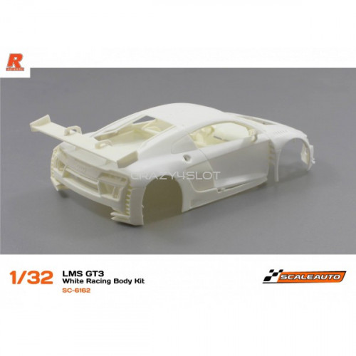 Audi R8 LMS GT3 White Racing Kit