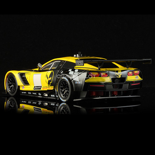 Corvette C7R GT3 Club Edition Yellow And Black Aw