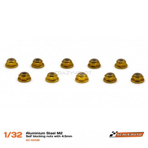 Dadi M2 Autobloccanti con Testa da 4.5mm