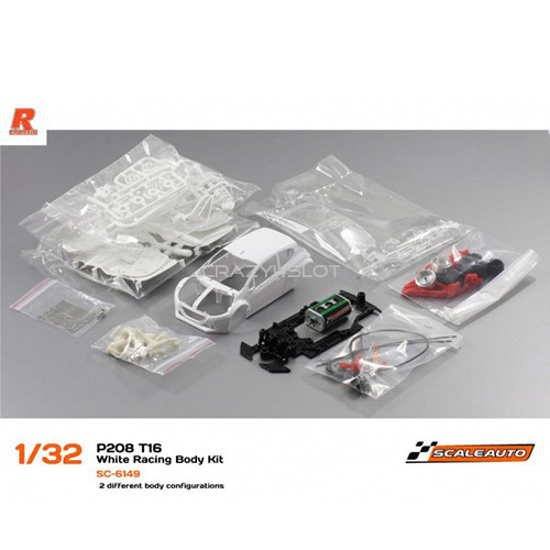 Peugeot 208 T16 White Racing Kit