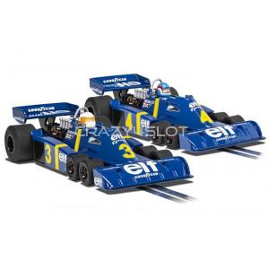 Cofanetto Twin Pack Tyrrell P34 Swedish GP 1976