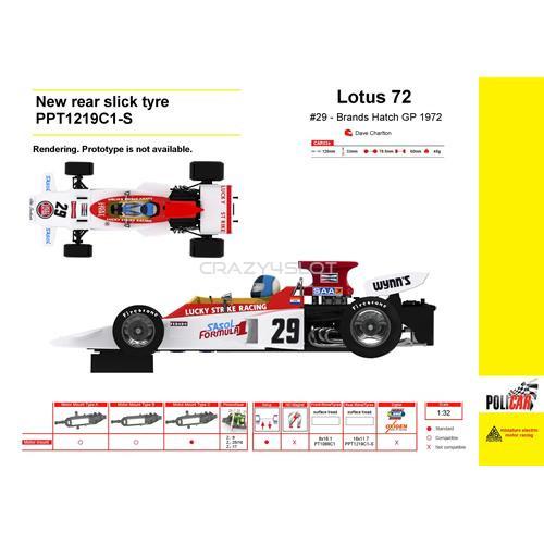 Lotus 72 n.29 Brands Hatch GP 1972 Dave Charlton