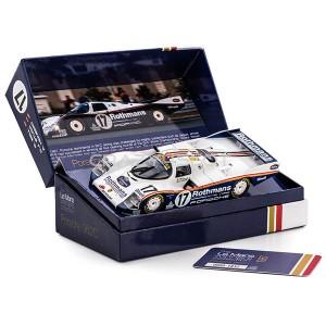 Porsche 962C 85 n.17 Winner Le Mans 1987