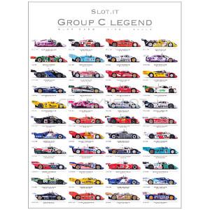 Poster Slot.it Group C Legend 2011-2017 Autografato
