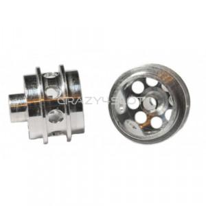 Cerchi Anteriori in Alluminio da 14.6x10.2mm