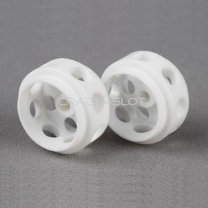 Cerchi Delrin Ultra Leggeri 14.5 x 9 mm White