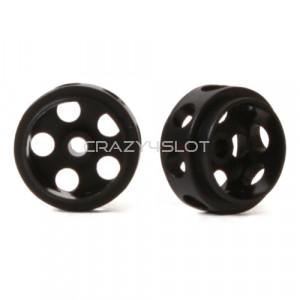 Cerchi Delrin Ultra Leggeri 14.5 x 9 mm Black