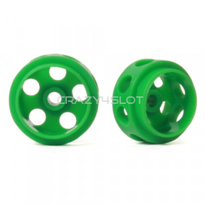 Cerchi Delrin Ultra Leggeri 14.5 x 9 mm Green