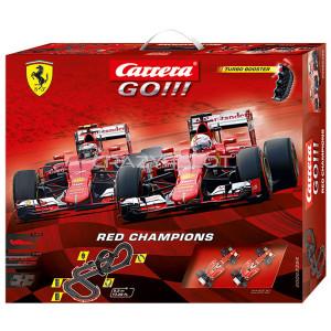 Pista Elettrica Carrera GO Red Champions