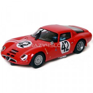 Alfa Romeo TZ2 24Hrs Le Mans 1965 n.42