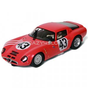 Alfa Romeo TZ2 24Hrs Le Mans 1965 n.43