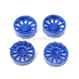 Inserti in Plastica Blu a 12 Razze per Cerchi da 17
