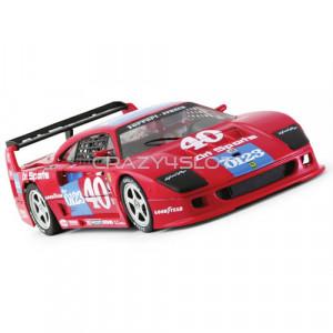 Ferrari F40 n.40 2nd IMSA GTO Road America 1990