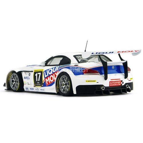 BMW Z4 GT3 24h Dubai 2011 n.17 Team Engstler Liqui Moly