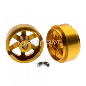 Cerchi in Alluminio Jarama da 15.5 x 8.5mm