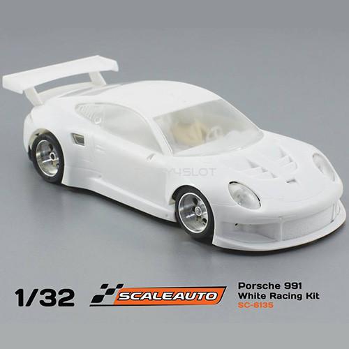 Porsche 991 GT3 White Racing Kit