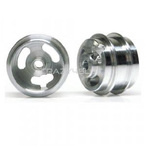 Cerchi in Alluminio 15.8x10mm Pieni a Mozzo Corto