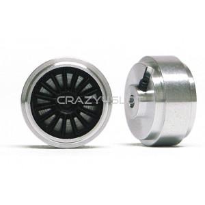 Cerchi in Alluminio 15.8x8.2mm a Mozzo Corto