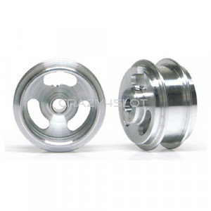 Cerchi in Alluminio 15.8x8.2mm Pieni a Mozzo Corto