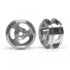Cerchi in Alluminio 15.8x8.2mm Forati a Mozzo Corto