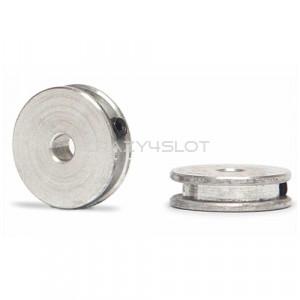 Coppia Pulegge in Alluminio per 4Wd