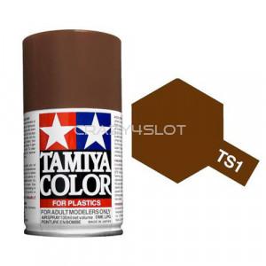 Vernice Spray Tamiya TS1 Red Brown