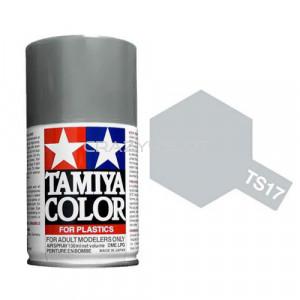 Vernice Spray Tamiya TS17 Aluminum Silver