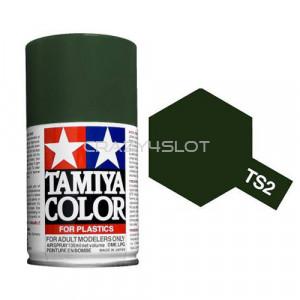 Vernice Spray Tamiya TS2 Dark Green