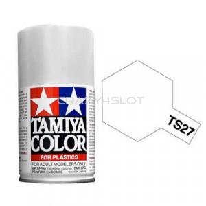 Vernice Spray Tamiya TS27 Matt White
