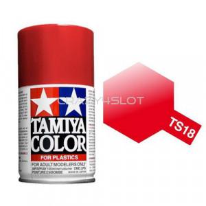 Vernice Spray Tamiya TS18 Metallic Red