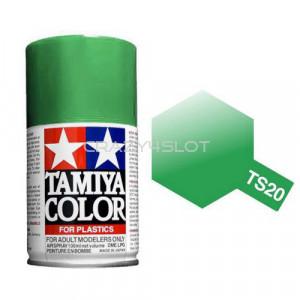 Vernice Spray Tamiya TS20 Metallic Green