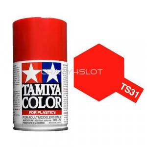 Vernice Spray Tamiya TS31 Bright Orange