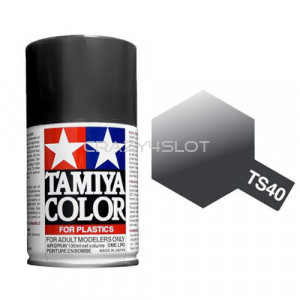 Vernice Spray Tamiya TS40 Met Black
