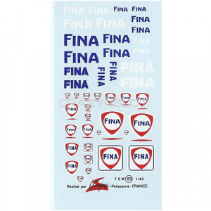 Decals ad acqua Fina 1:43